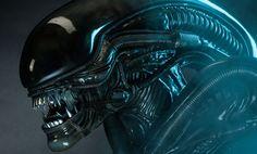 DVR Unboxes Sideshow Collectibles Alien Big Chap Legendary Scale Bust Limited Edition Version that's right only 750 ever made! Alien 1979, Alien Alien, Prometheus 2, Sci Fi Thriller, Alien Concept Art, Aliens Movie, Ridley Scott, Alien Vs Predator, Xenomorph