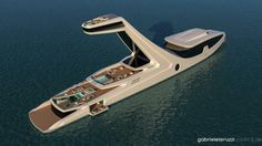 World's most unusual yacht could cost $250M to build
