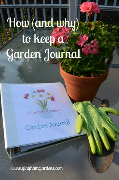 Herbal Gardening DIY Garden Journal and Planner - Gingham Gardens - Keeping a Garden Journal or Garden Planner is the best gardening resource to save you time and money year after year. Learn how with Free Garden Printables. Diy Garden, Shade Garden, Garden Tools, Garden Ideas, Potager Garden, Terrace Garden, Green Garden, Gardening For Beginners, Gardening Tips