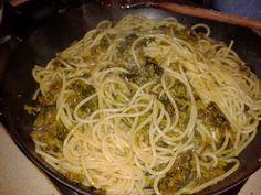 Caserta - Spaghetti con friarielli e salsiccia stagionata