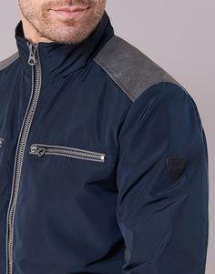 Textil Muži Bundy Kaporal SOLYA Tmavě modrá Bomber Jacket, Jackets, Fashion, Moda, Bomber Jackets, Fasion, Fashion Illustrations, Fashion Models, Cropped Jackets