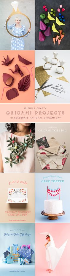 If you've got some free time this week check out our origami projects! Oh so fun and totally worth your time!