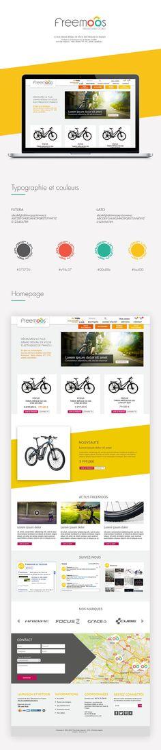 Freemoos - webdesign on Behance
