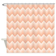 Peach Ombre Shower Curtain Home Sleep And Ombre