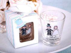 shot glass wedding favors