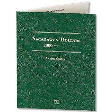 Littleton Coin Folder LCF37 Sacagawea Dollar 2000-2015 Archival Quality