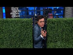 A Lesson In Prepositions Brought To You By Sean Spicer's Bushes | Stephen gives a refresher on prepositions after The Washington Post publicly corrected a report that Press Secretary Sean Spicer hid 'in' the bushes from reporters.