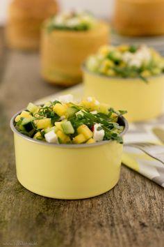 Mango-Gurken-Salat › foodistas.de