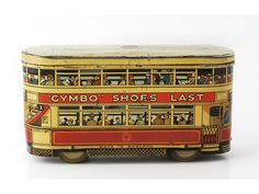 1920s Carrs London Bus shaped biscuit tin, advertising - Miller's Antiques & Collectables Price Guide