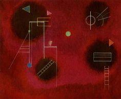Vier Flecken (1929), Wassily Kandinsky, #art #abstract #geometric