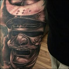 my samurai tattoo