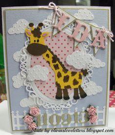 Olivias Loveletters: En lille giraf
