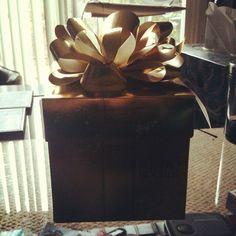 Thank you Influenster for my Golden Gift! Happy Holidays & thanks Ferrero Rocher! <3