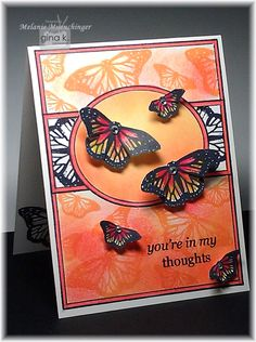 Fabulous Frame stamp set from Gina K. Designs. Card and set by Melanie Muenchinger. Purchase stamps here: http://www.shop.ginakdesigns.com/product.sc?productId=2190&categoryId=32 Visit my blog Hands, Head and Heart