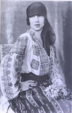 Elena, Crown Princess of Romania (nee Princess Helen of Greece). Romanian Royal Family, Greek Royal Family, History Major, British History, Greek Royalty, Visit Romania, Grand Duchess Olga, Victoria And Albert, Queen Victoria