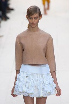 cool chic style fashion: Chloe spring / summer 2013 runway collection
