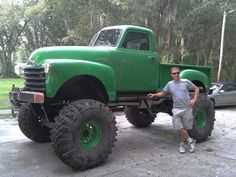 Uploaded from the Photobucket Android App - See this image on Photobucket. Jacked Up Trucks, Lifted Cars, Classic Chevy Trucks, Gm Trucks, Jeep Truck, Cool Trucks, Pickup Trucks, Lifted Chevy, Chevrolet Trucks