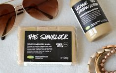 London Beauty Queen: The Solid Sunblock: Lush Launch A Solid Sunscreen Wash