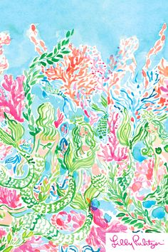 Sirens Calling - Lilly Pulitzer x Starbucks 2017