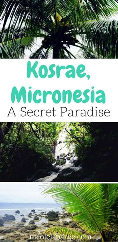 Not many people can say they have been to this island paradise in the central Pacific.  Click to see what Micronesia has to offer #island #micronesia #paradise