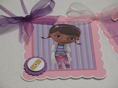 Doc McStuffins Party Supplies | Doc McStuffins Happy Birthday Banner | SerenasPartyBoutique - Paper ...
