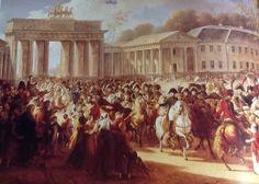 Entrata di Napoleone a Berlino