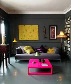 Low Budget Apartment Interior Decorating : 2013 Apartment Design and Home Interior Ideas like this, but not a huge fan of the table color Apartment Renovation, Apartment Interior Design, Home Interior, Color Interior, Yellow Interior, Interior Walls, Apartment Cost, Gothic Interior, Pastel Interior
