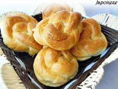 Reteta Japoneze din categoria Aluaturi si Foietaje Bread, Snacks, Chocolate, Breakfast, Food, Chef Recipes, Morning Coffee, Appetizers, Schokolade