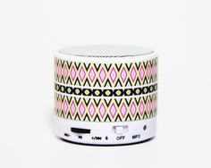 Aztec Geometric Wireless Bluetooth Mini Speaker or something like this Unique Christmas Gifts, Merry Christmas, Mini Bluetooth Speaker, Diy Photo, Birthday Wishes, Iphone Case Covers, Aztec, Charlotte Russe, Celebration