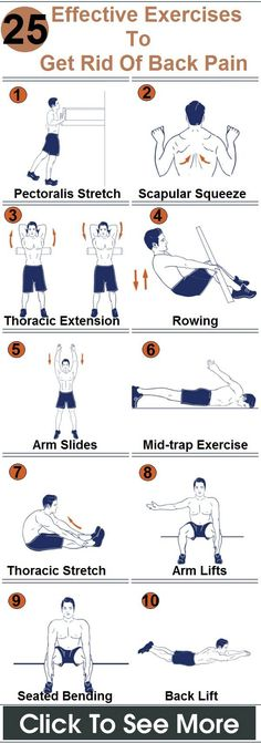 #Exercise #BackPain #Sciatica More effective exercises to get rid of back pain. Find out more at http://www.symptomssciatica.com/exercises-sciatica/