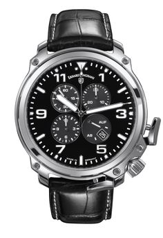 a46667d71ecb8 Erhard Junghans Aerious Chronoscope Watch by Junghans has Stainless Steel  Case