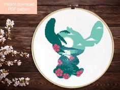 Embroidery Cross Stitches LILO and Stitch cross stitch pattern,Disney cross stitch pattern, Disney baby nursery cross stitch, easy counted cross stitch, PDF - Disney Cross Stitch Patterns, Counted Cross Stitch Patterns, Cross Stitch Designs, Disney Cross Stitches, Cross Stitch Fabric, Cross Stitching, Cross Stitch Embroidery, Easy Cross Stitch, Ribbon Embroidery
