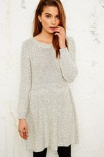 BDG Cosy Fit & Flare Dress at Urban Outfitters