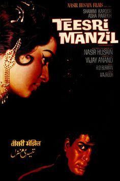 Teesri Manzil (1966) Hindi Bollywood Movies, Bollywood Posters, Old Movie Posters, Film Posters, Film Song, Film Movie, Old Movies, Vintage Movies, Movies