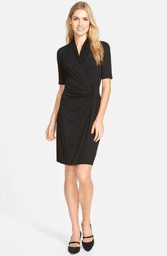 0f3528be73b Karen Kane Pencil Sleeve Faux Wrap Dress 10 Item Wardrobe