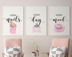 Home Beauty Salon, Home Nail Salon, Nail Salon Design, Nail Salon Decor, Beauty Salon Design, Salon Interior Design, Schönheitssalon Design, Nail Parlour, Esthetics Room
