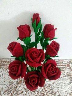 Rosas Vermelhas para Vaso
