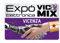 2016 Fiera Elettronica - Electronics Fair, Feb. 27-28, 9 a.m.-6 p.m., in Vicenza, Via dell'Oreficeria; amateur radio, robotics, electronics and computing exhibit; Vicomix – cartoon and Cosplayer fair; second hand electronic and photo items market;   entrance fee: €8; reduced: €6.