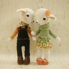 Knitted Dolls, Crochet Dolls, Crochet Hats, Crocheted Toys, Amigurumi Toys, Homemade Gifts, Lamb, Elsa, Knitting