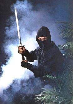 Sho Kosugi - Ninja Arte Ninja, Ninja Art, Ninja Warrior, Warrior Girl, Guerrero Ninja, Female Ninja, Ninja Sword, Martial Arts Weapons, Japanese Warrior