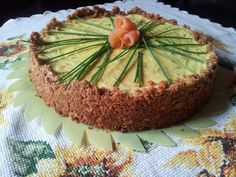 Simo's Cooking: Il nuovo arrivo e . . . Cheesecake alla Ricotta con Yogurt Greco, Salmone & Zucchine