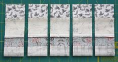 Nifty strip-piecing trick How to quickly stitch up a randomised panel of patchwork squares. Strip Quilt Patterns, Jelly Roll Quilt Patterns, Patchwork Quilt Patterns, Scrappy Quilts, Easy Quilts, Bargello Quilts, Jellyroll Quilts, Quilting Patterns, Quilting For Beginners