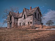 abandoned places | abandoned farmhouse on Talbot Trail in south western ontario - KPEP ...