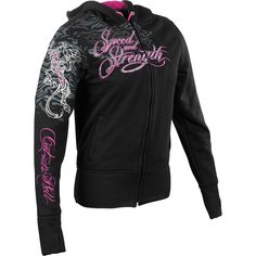 Speed And Strength Cat Out'a Hell Women's Armored Hoody