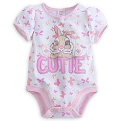 Miss Bunny Disney Cuddly Bodysuit for Baby | Disney StoreMiss Bunny Disney Cuddly Bodysuit for Baby - Thumper's girlfriend Miss Bunny is all ''twitterpated'' for this Disney Cuddly Bodysuit. Made from soft cotton to inspire springtime smiles as baby blossoms!