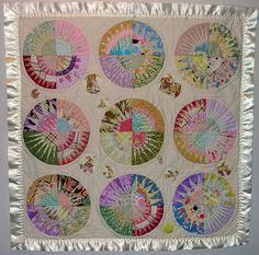 scrappy pastelly look for baby quilt