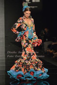De flores y estampados para Feria 2015 | Moda Flamenca por Claudia Alfaro · Entre Cirios y Volantes.
