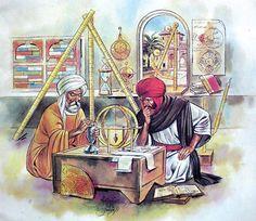 """islamiyet: """"Müslüman Bilim Adamları 1. Akşemseddin: Pasteur 'dan 400 sene önce mikrobu bulmuştur 2. Ali Kuşçu: Büyük astronomi bilgini. İlk defa ayın şekillerini anlatan kitabı yazmıştır. 3...."""