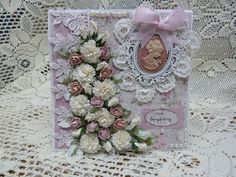 Cameo rose card