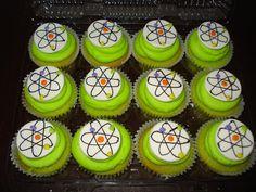Atom Cupcakes